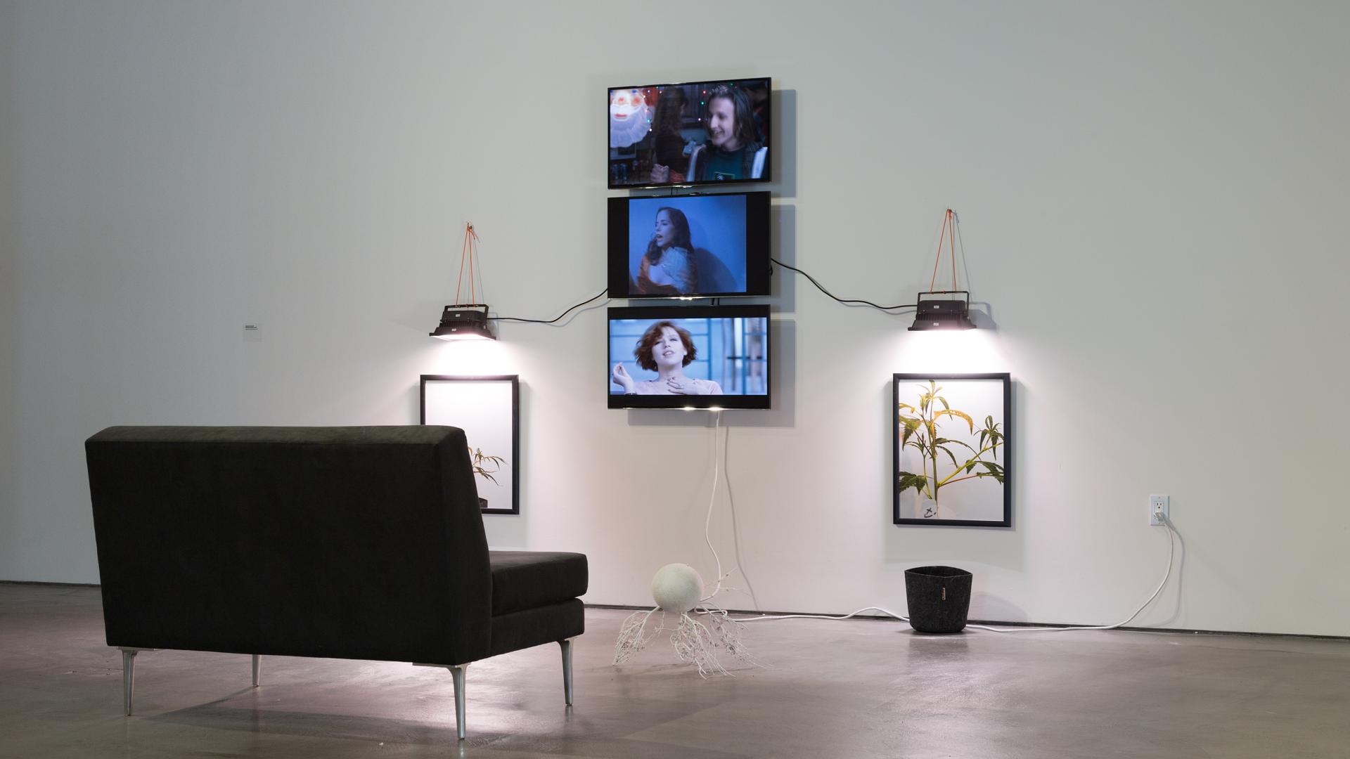 3 Channel Video Art Installation